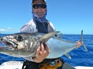 Leon Key and this dogtooth tuna